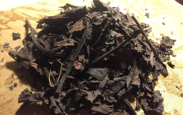 Чай из листьев бадана