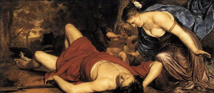 Легенда об Адонисе и Афродите